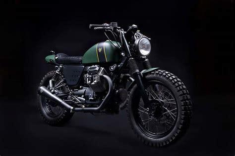 Bespoke Moto Guzzi V7 Scrambler By Venier Custom