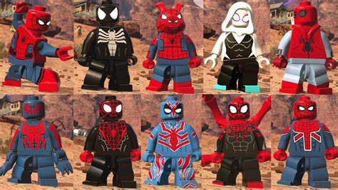 emuparadise lego marvel superheroes lego marvel super heroes 2 all spider man characters