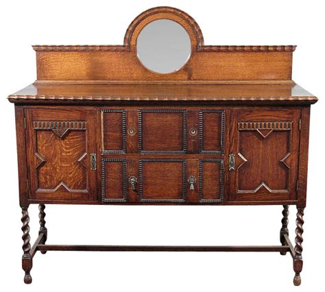 Oak Sideboard Antique antique oak jacobean barley twist buffet sideboard traditional buffets and sideboards by
