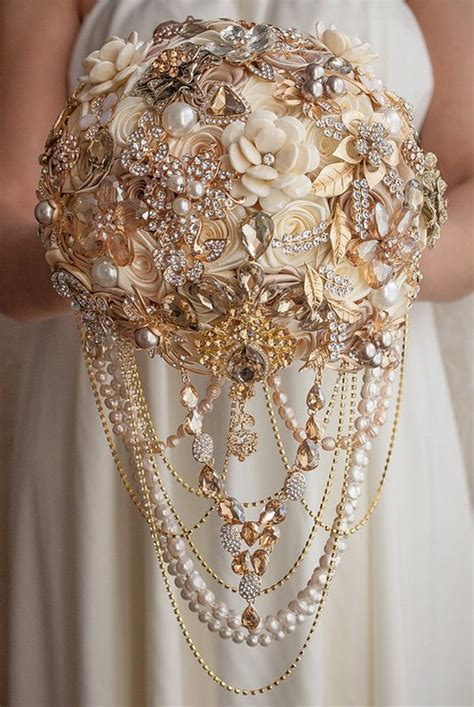 Wedding Bouquet Vintage Brooches by Top 10 Vintage Wedding Brooch Bouquet Ideas For 2018