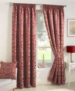 Black Pinch Pleat Curtains Crompton Ready Made Lined Curtains Red Luxury Headed