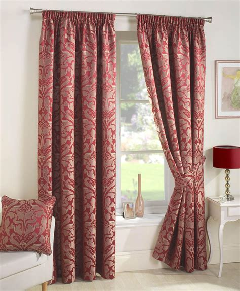 lined curtains crompton ready made lined curtains red luxury headed