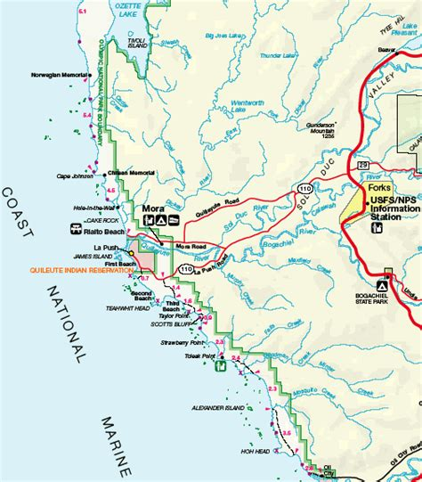 olympic national park map our world outside olympic national park