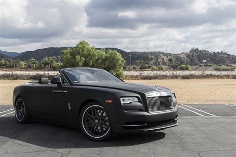 roll royce dawn black midnight maruader