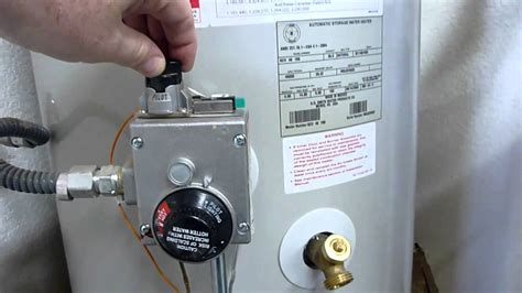how to light a water heater with electronic pilot how to relight a water heater pilot light youtube autos post