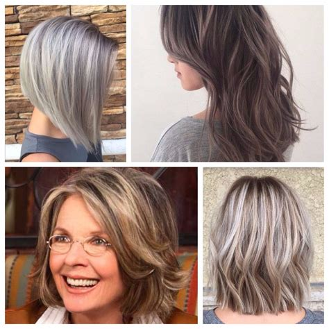 hair highlights pictures for grey hair the best way to cover grays hair world magazine