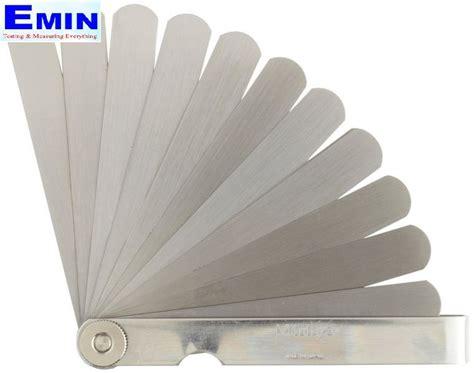 Jual Mitutoyo 184 303s Thickness mitutoyo 184 301s thickness feeler set 0 05 1mm 13 leaves 150mm