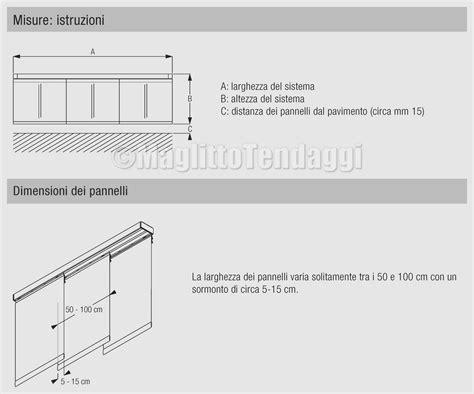 binario tende pannello binario professionale per tenda a 2 pannelli