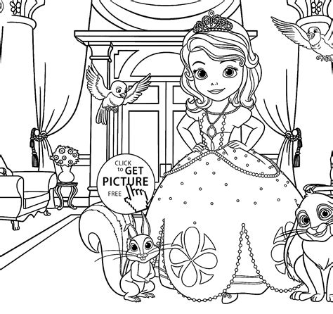 sophie the first coloring pages az coloring pages