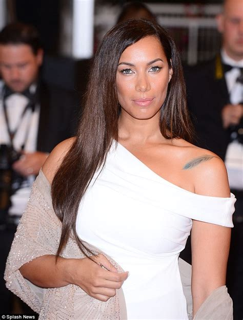 feather tattoo leona lewis leona lewis attends cannes premiere of amy winehouse