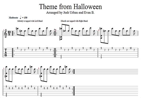 theme songs guitar published