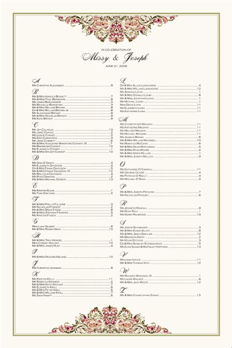 search results for blank wedding seating chart template