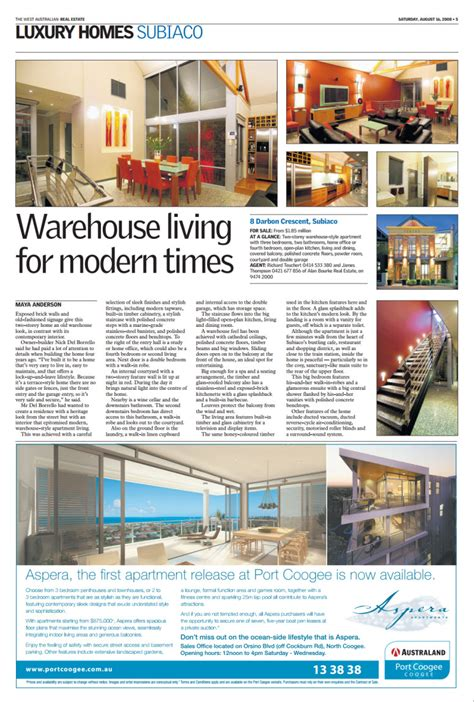 sunday times real estate section media sol construction