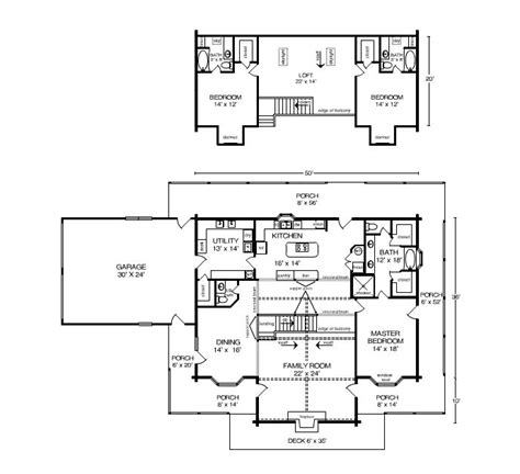 satterwhite log homes floor plans woodland option 1 home plan by satterwhite log homes