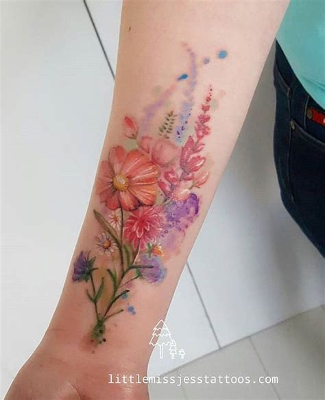 watercolor tattoos adelaide jess hannigan tatuajes tatting and