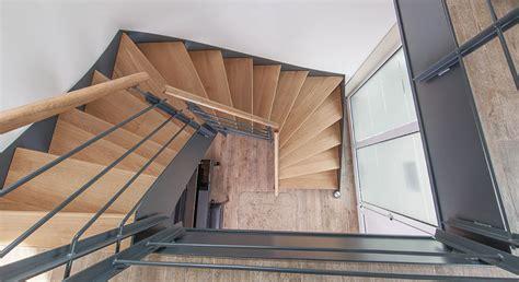 treppe stahlwange treppenbau schmidt plz 56462 h 246 hn treppen aus stahl