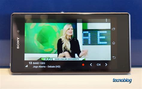 Tv Digital Sony sony xperia z1 o poderoso tv digital que chega ao