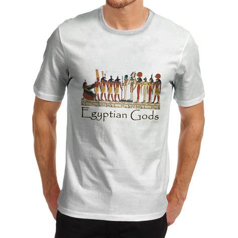 design t shirt egypt men mythological theme design egyptian gods mythological t