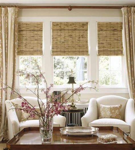 drapes over woven roman shades for the home pinterest