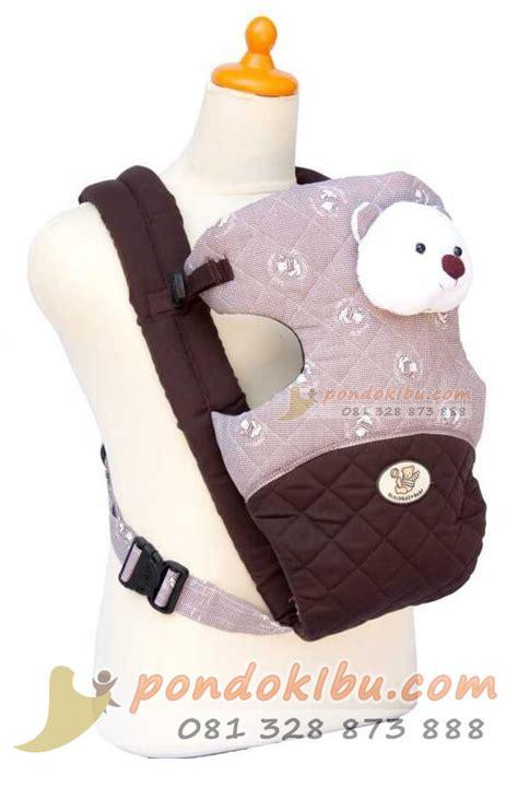 gendongan bayi dialogue 2 posisi nyaman dipakai pondok ibu