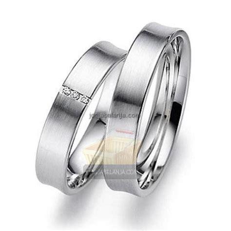 Cincin Tunangan Perak Hitam Putih cincin kawin perak essa sepasang lapis emas cincin kawin