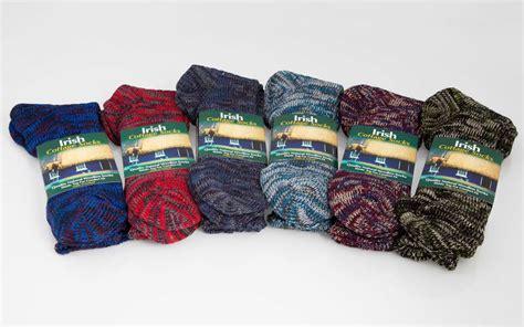 irish cottages socks 6 pairs irish socks irish cottage