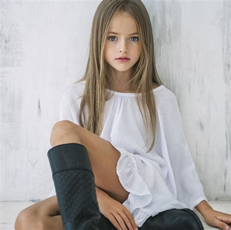 Meet 9 year old model kristina pimenova