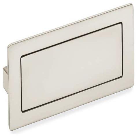 7 Inch Drawer Pulls by Schwinn Hardware Covered Flush Pull 4 5 7 Inch Satin