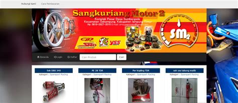 tutorial e commerce aplikasi toko online penjualan spare script toko online sederhana 2 source e commerce