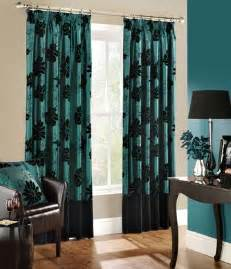 Turquoise Living Room Curtains Designs Window And Door Curtains Design Interior Design Ideas