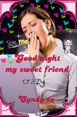 good night  sweet friend picture  blingeecom