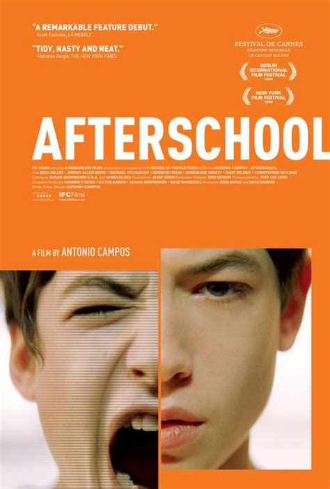 film review afterschool filmbook