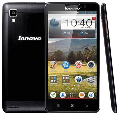 Lenovo P780 cell phone streets lenovo p780 specifications and images