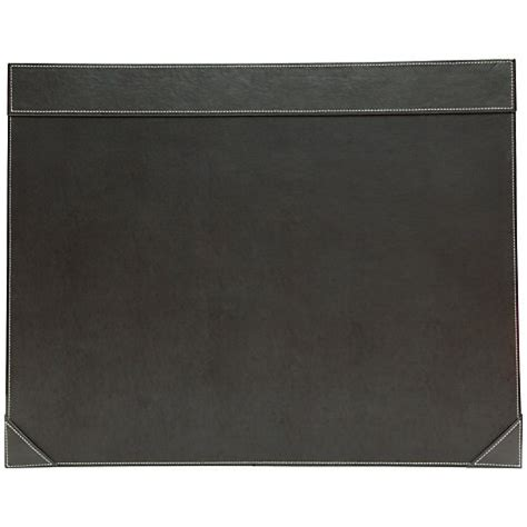 Faux Leather Desk Mat by Buy Osco Demy Faux Leather Desk Mat Brown Lewis