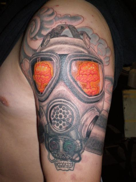 gas mask tattoos designs ideas and meaning tattoos for you