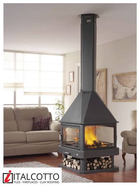 4 Sided Fireplace Wood Burning by 17 Best Images About Warm Winter Living On Wood Insert Stove And Modern Fireplaces