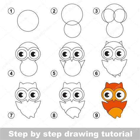 how to make doodle tutorial tutoriel de dessin comment dessiner une chouette mignon