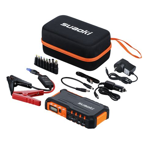 Banc Auto by Suaoki Power Bank Auto Car Jump Starter Vehicle Booster