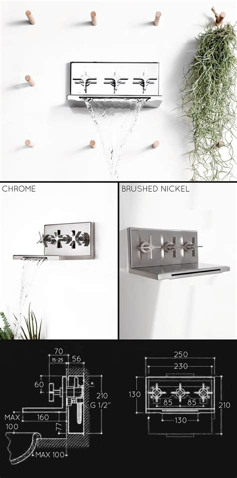 waterfall bath taps with shower waterfall bath taps with shower divertor valve l eau