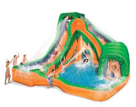 Backyard Inflatable Water Park Banzai Jungle Blast Water Park Banzai Water Park