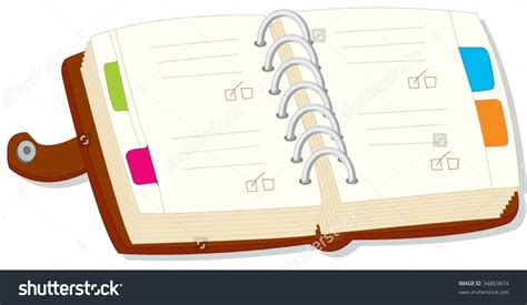 Of A diary clip clipart panda free clipart images