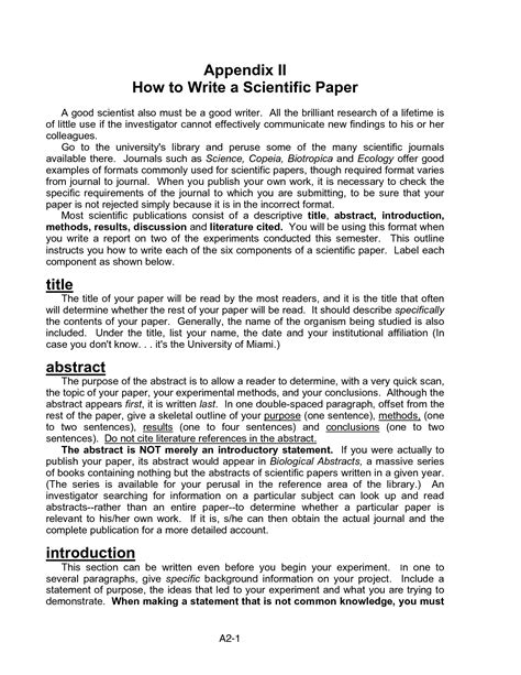 writing a scientific research paper exle how to write scientific report ghostwriting service