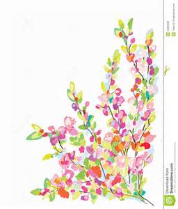 flower border card for greeting card stock vector image 42263683