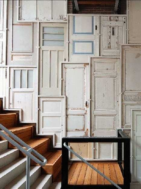 Doors For Walls by 30 Modern Wall Decor Ideas Recycling Wood Doors For