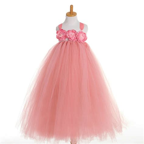 Handmade Dresses For - popular handmade tutu flower dresses buy cheap