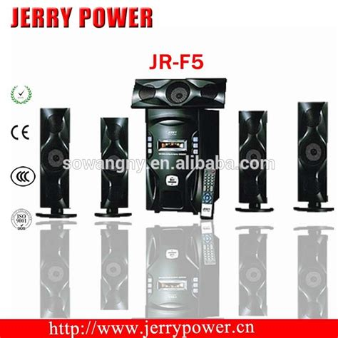 5 1ch hifi sound home theater system with 8 lifier