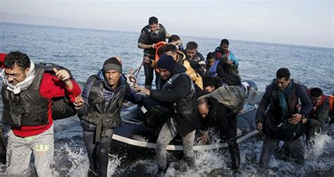 refugee boat video greek crewman accused of sinking syrian refugee boat