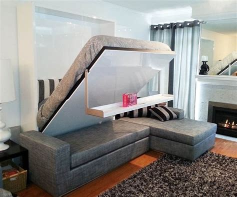 Murphy Bed And Sofa Murphy Beds With Fold Down Couch This Cleverly Designed