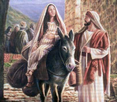 imagenes de nacimiento de jesus maria y jose la raz 211 n de nuestra vida jose y maria camino de belen