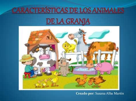 la granja y sus 843054898x caracter 237 sticas de los animales de la granja